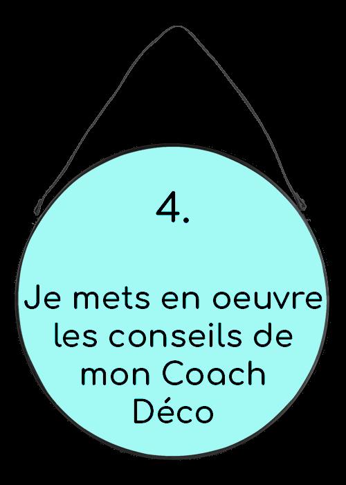 j'applique les conseils de mon coach Déco