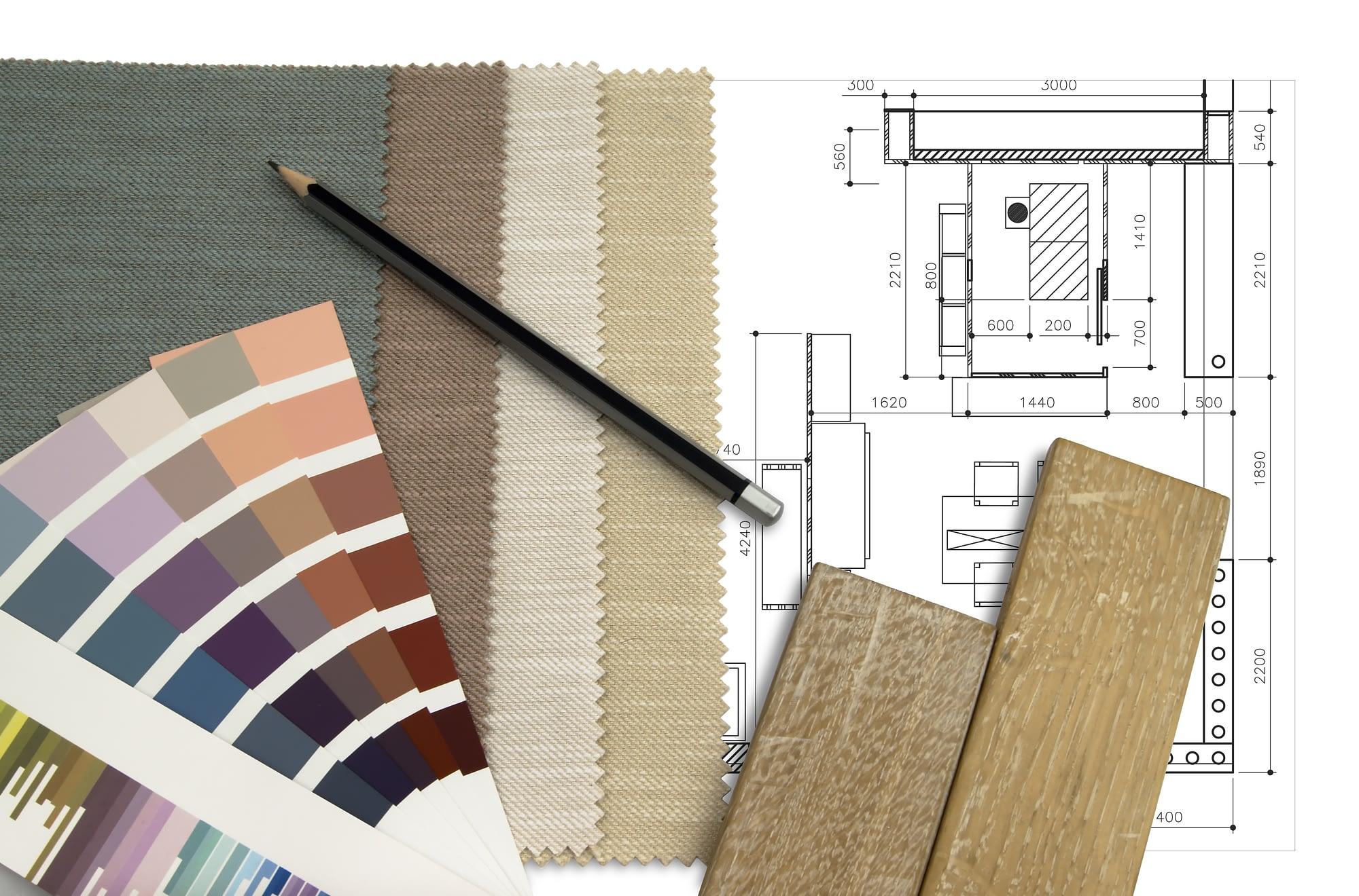 Votre architecte d'intérieure Gersoise vous accompagne dans l'agencement et les travaux mais également dans la sélection des couleurs et matériaux.