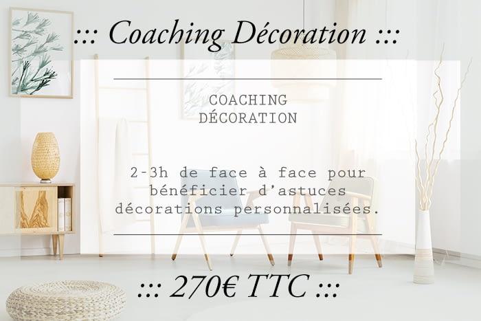 Coaching Décoration dans le Gers, entretien en face à face de deux à trois heures pour pleins d'astuces décos