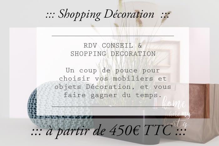 Shopping Décoration dans le Gers, Tarifs- je fais votre shopping décoration à votre place